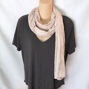 Old Navy Neutral cream floral Scarf Wrap